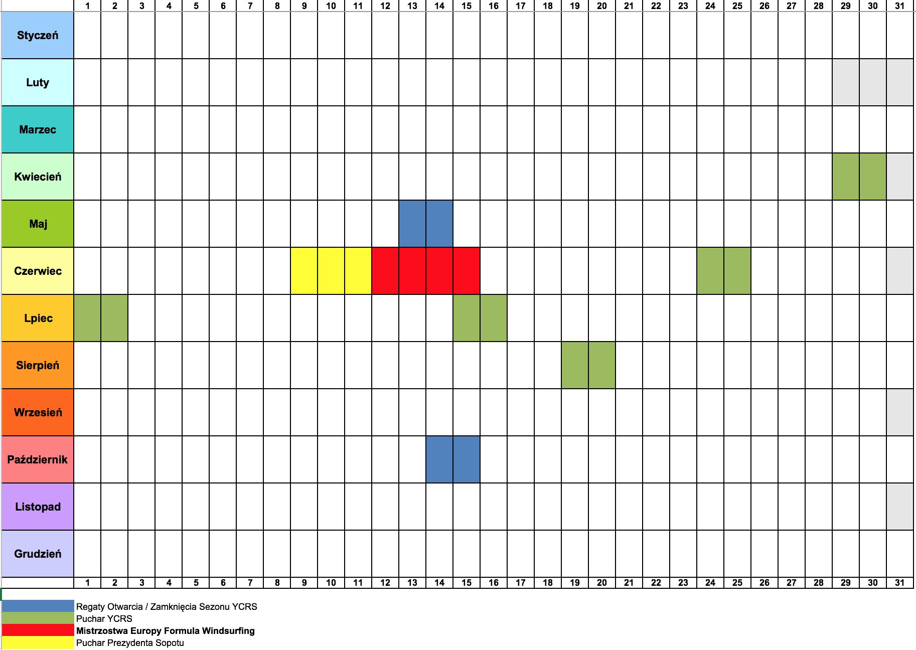 Kalendarz SKŻ